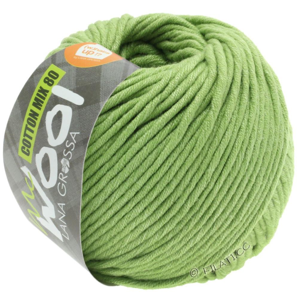 Lana Grossa COTTON MIX 80 (McWool) | 552-пастельно-зелёный