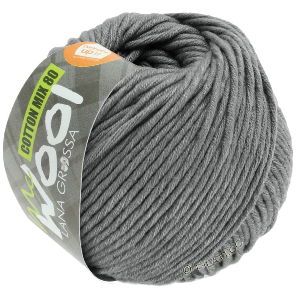 Lana Grossa COTTON MIX 80 (McWool) | 554-серый