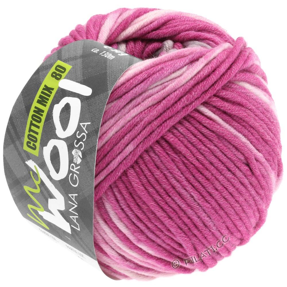 Lana Grossa COTTON MIX 80 Print (McWool) | 903-пинк/розовый/светло-серый/натуральный