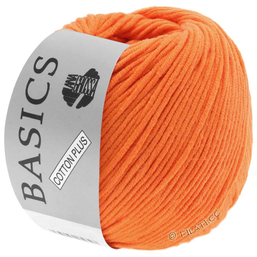 Lana Grossa COTTON PLUS | 102-оранжевый