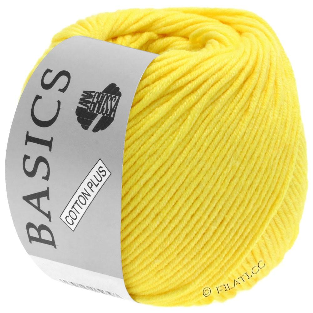 Lana Grossa COTTON PLUS | 108-жёлтый
