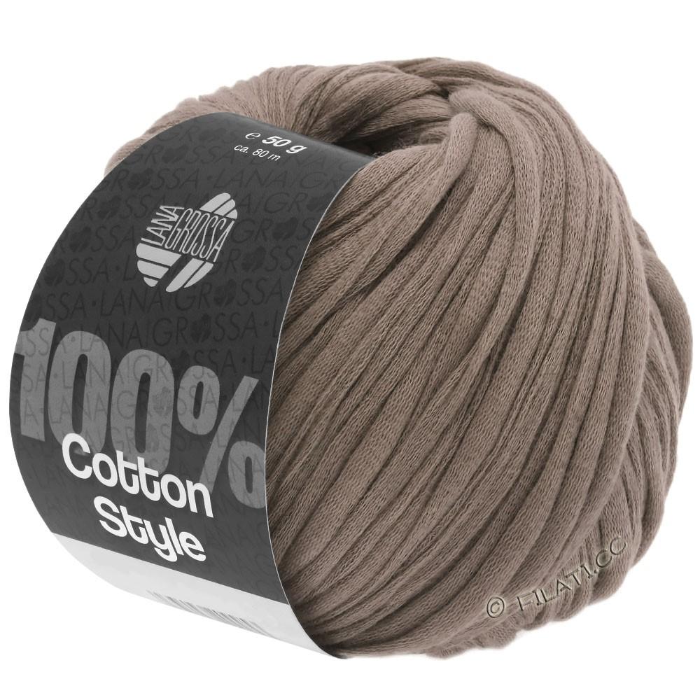 Lana Grossa COTTON STYLE | 04-серо-коричневый