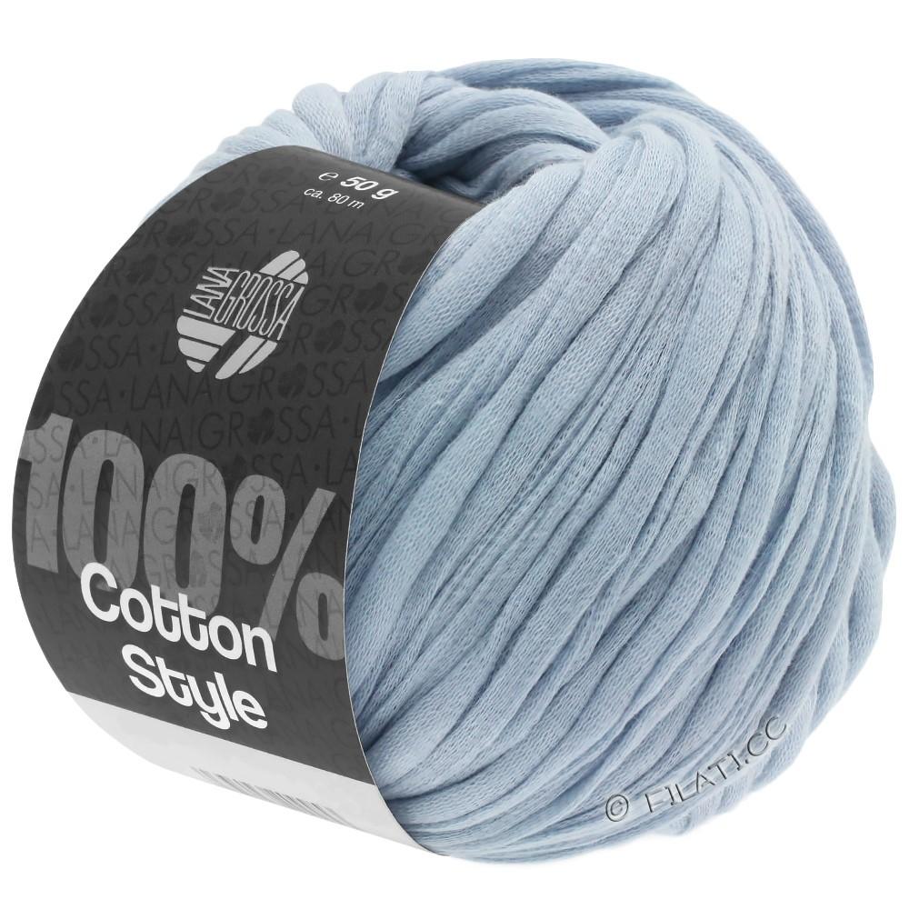 Lana Grossa COTTON STYLE | 07-светло-голубой