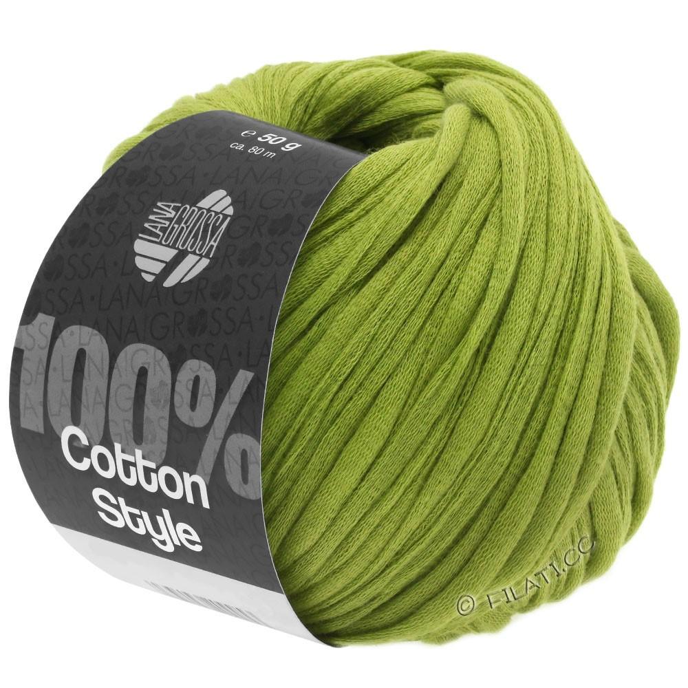 Lana Grossa COTTON STYLE | 10-жёлто-зеленый