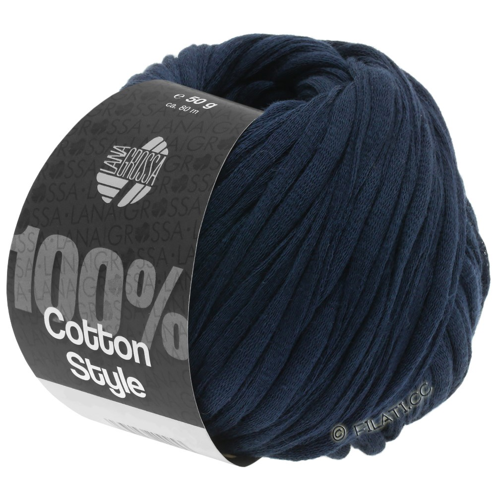 Lana Grossa COTTON STYLE | 11-тёмно-синий