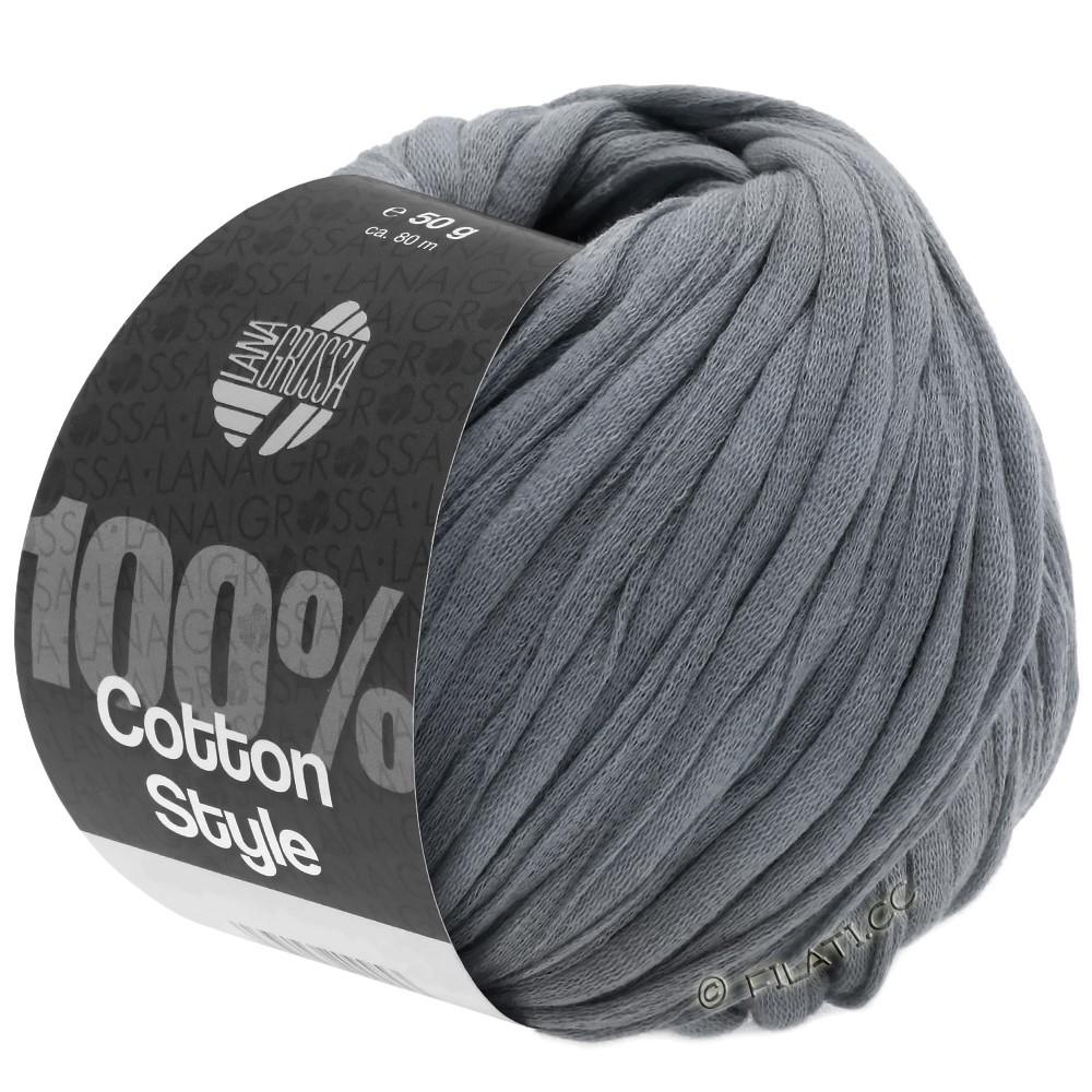 Lana Grossa COTTON STYLE | 12-тёмно-серый