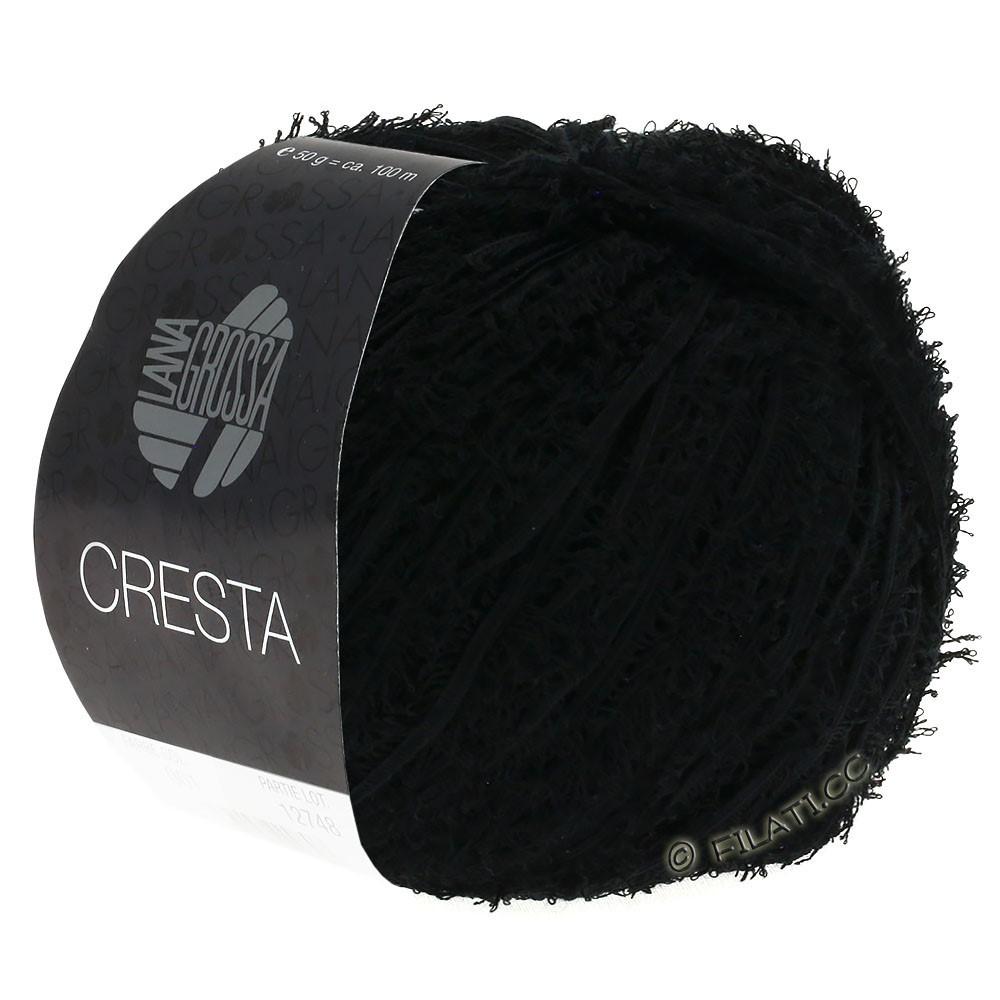 Lana Grossa CRESTA | 06-чёрный