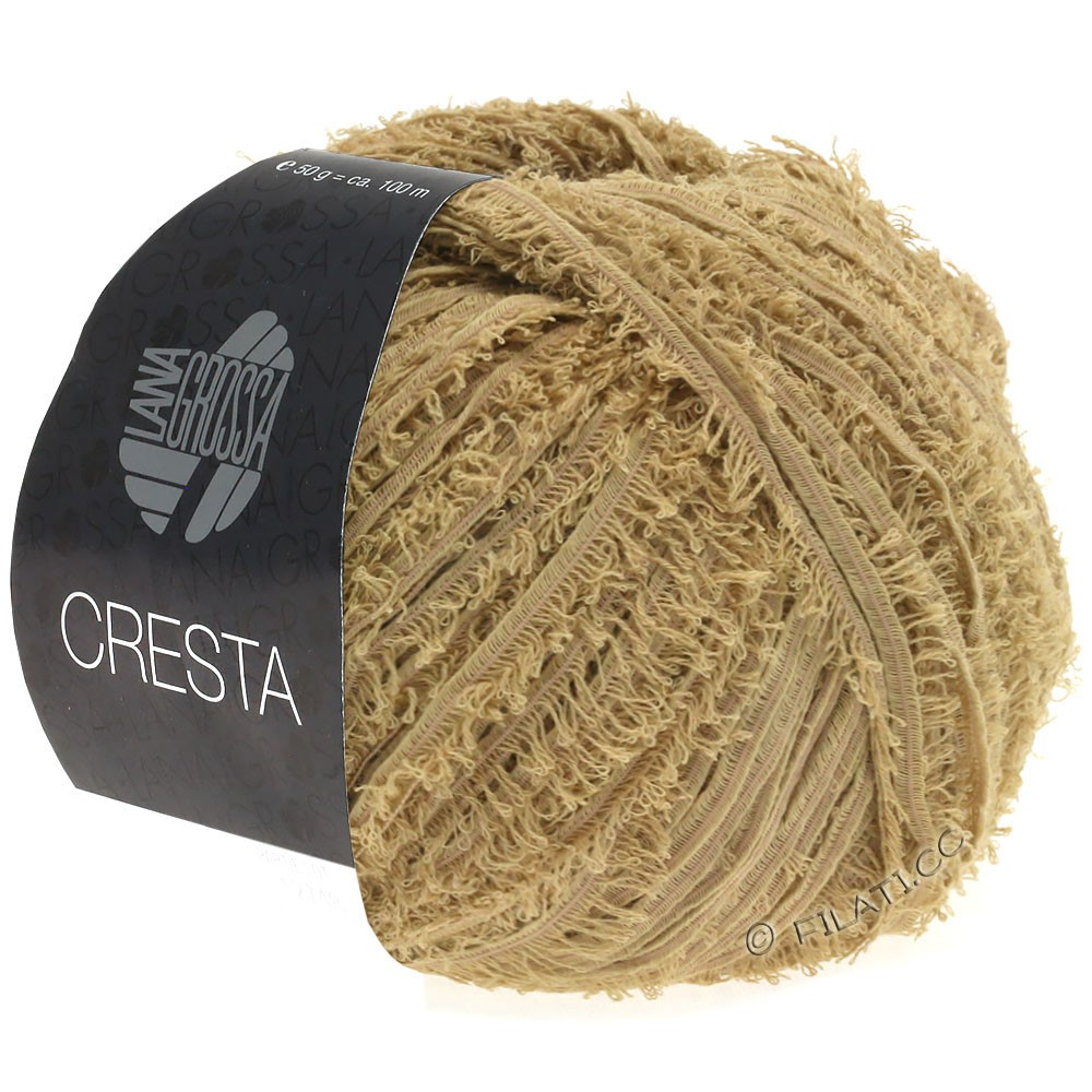 Lana Grossa CRESTA | 08-легко коричневый
