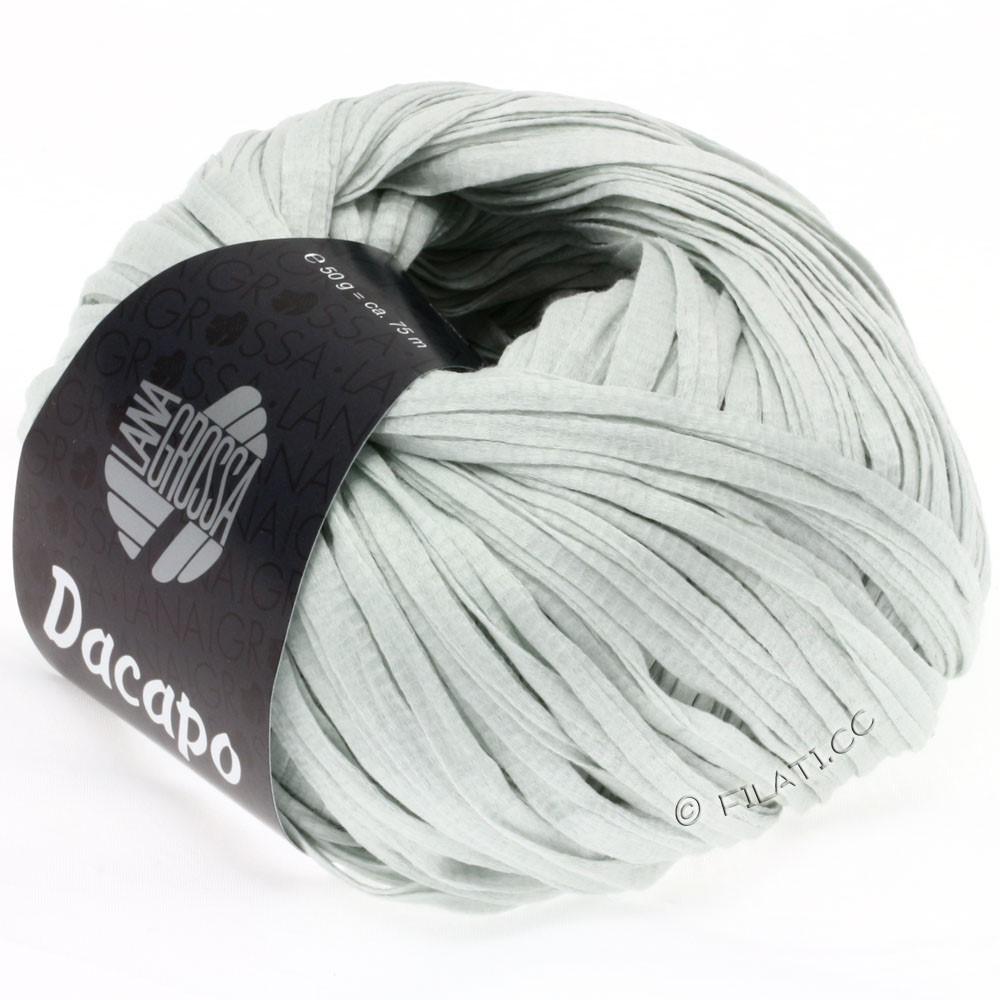 Lana Grossa DACAPO  Uni | 002-светло-серый