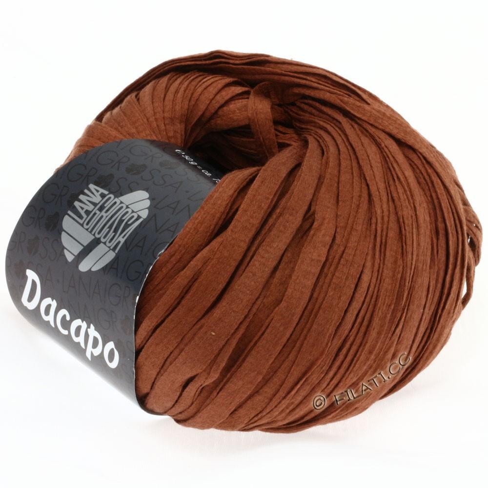 Lana Grossa DACAPO  Uni | 009-коричневый цвет корицы