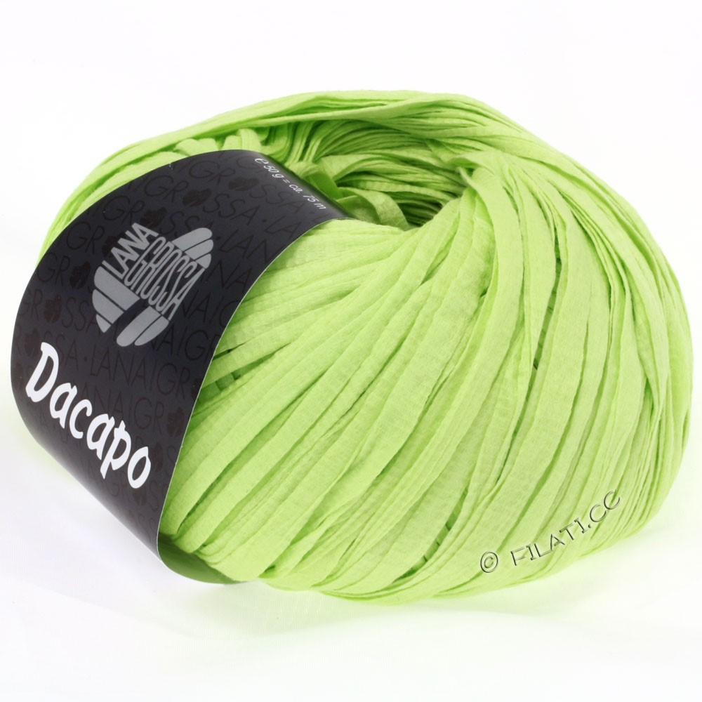 Lana Grossa DACAPO Uni | 016-светло-зелёный