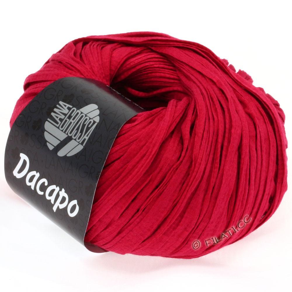 Lana Grossa DACAPO  Uni | 020-рубиново-красный