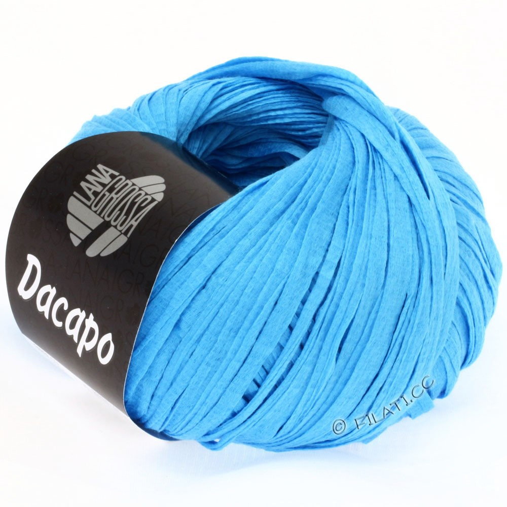 Lana Grossa DACAPO  Uni | 026-голубой
