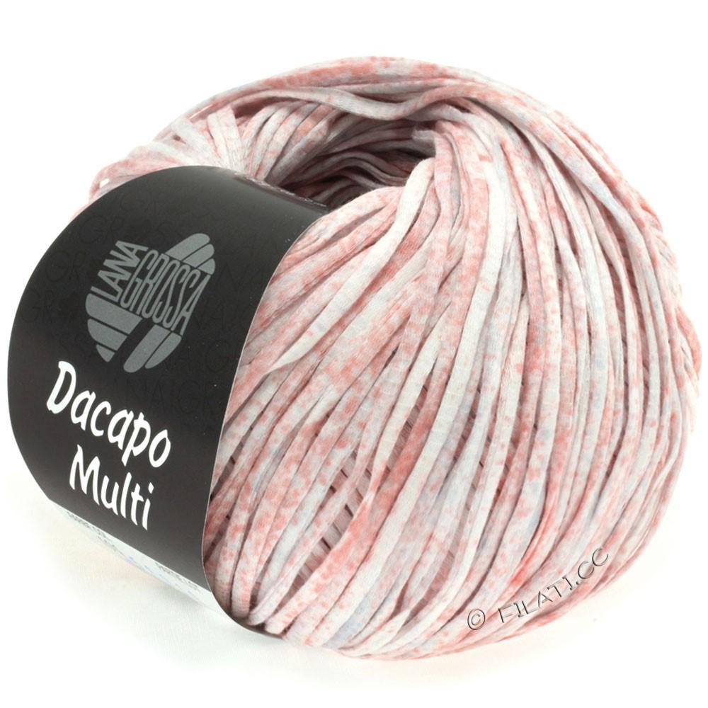 Lana Grossa DACAPO Multi | 101-розовый/светло-серый/сирень/натуральный
