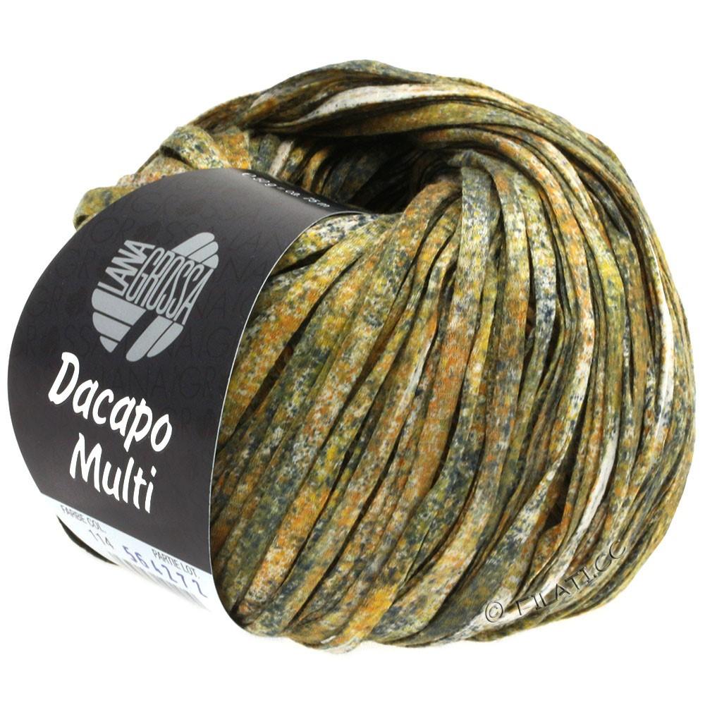Lana Grossa DACAPO Multi | 114-золотой/цвет ржавчины/антрацитовый/натуральный
