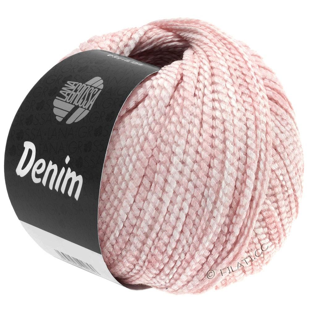 Lana Grossa DENIM | 12-розовый/белый