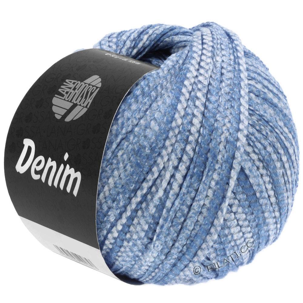 Lana Grossa DENIM | 19-синий/белый