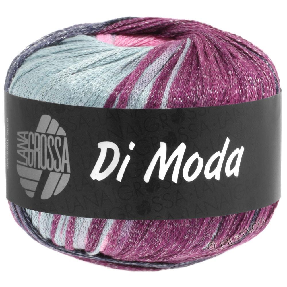 Lana Grossa DI MODA | 02-светло-серый/розовый/слива/сине-фиолетовый