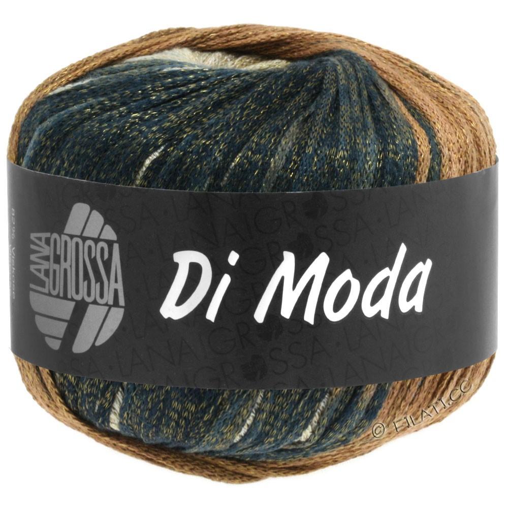 Lana Grossa DI MODA | 06-бежевый/легко коричневый/серо-коричневый/тёмно-синий
