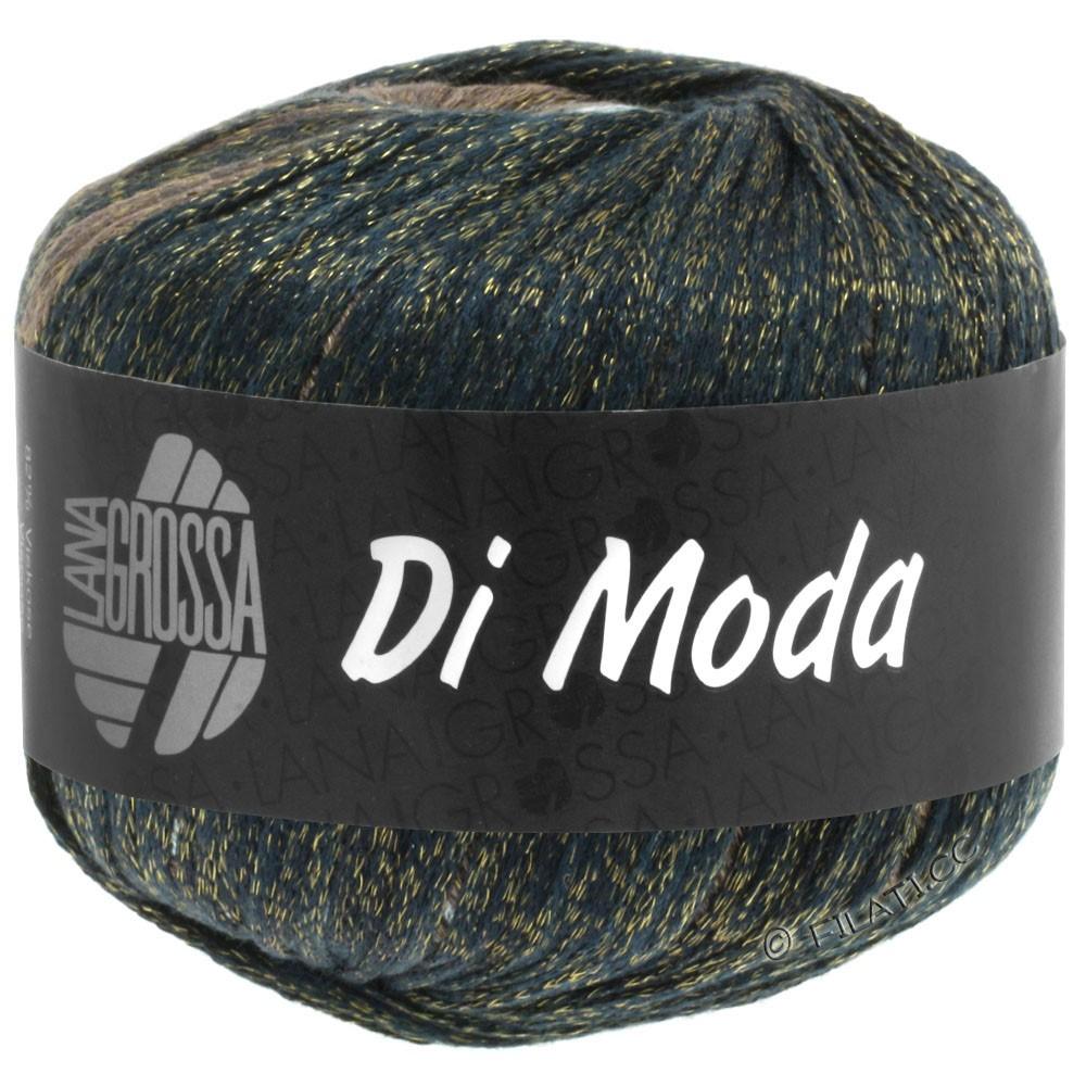 Lana Grossa DI MODA | 08-зеленый серый/серо-синий/джинс/ореховый цвет/кофе мокко