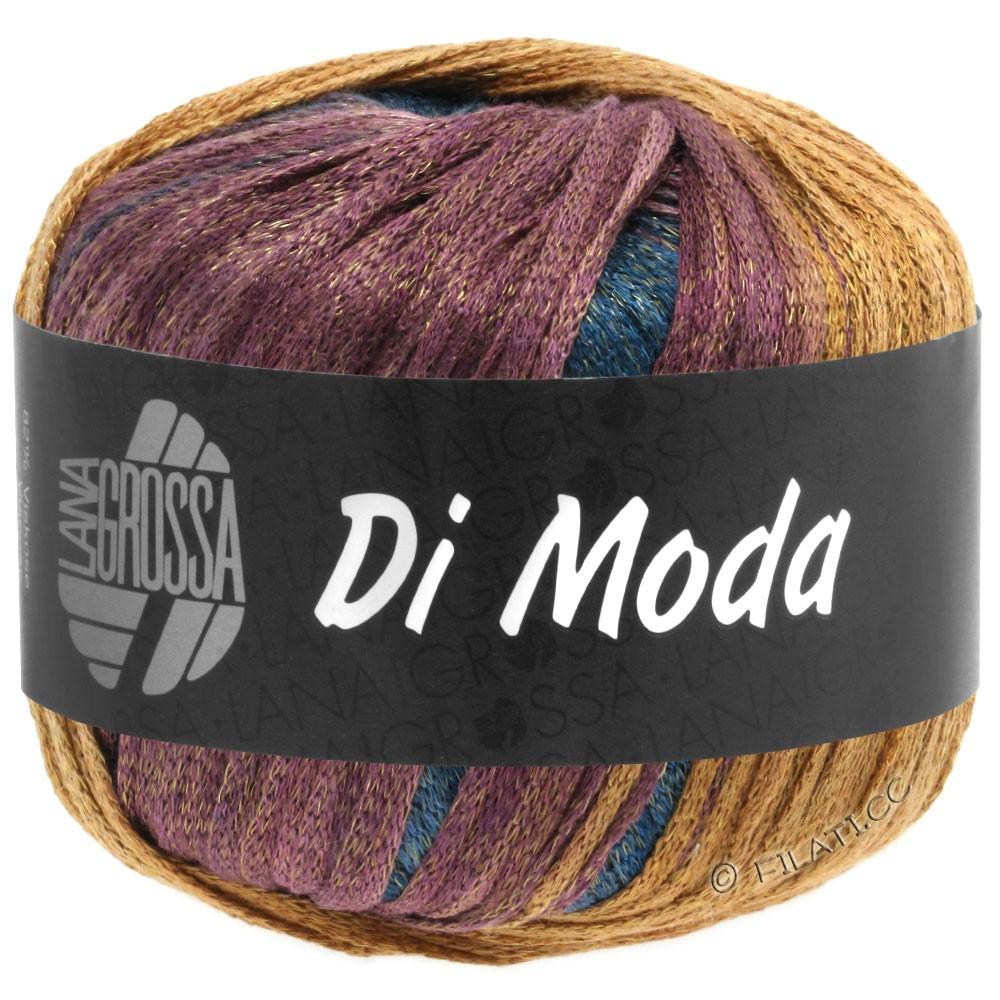 Lana Grossa DI MODA | 13-хаки/охра/бордо/чёрно-зелёный