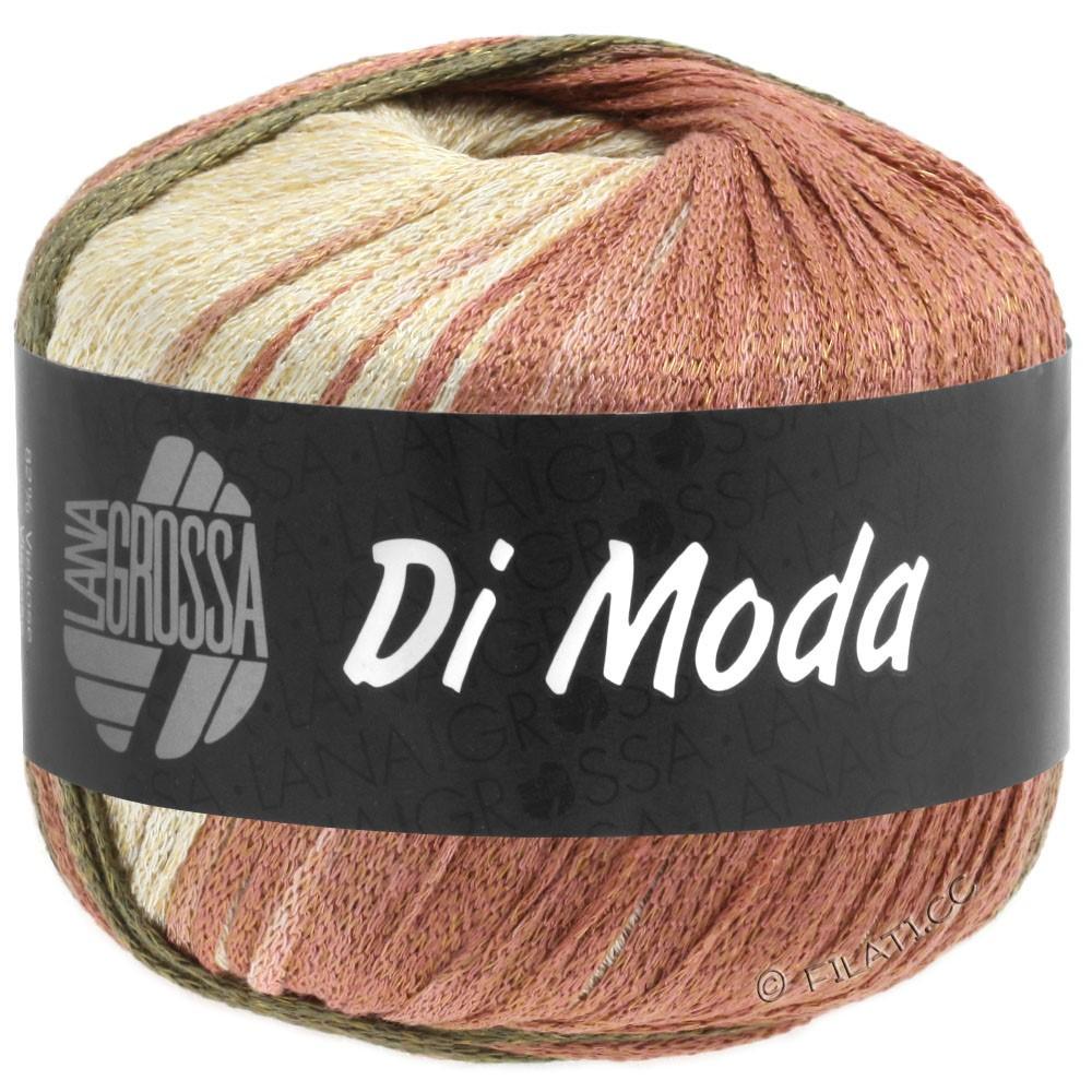 Lana Grossa DI MODA | 15-терракотовый/тёмно-оливковый/коричневый хаки