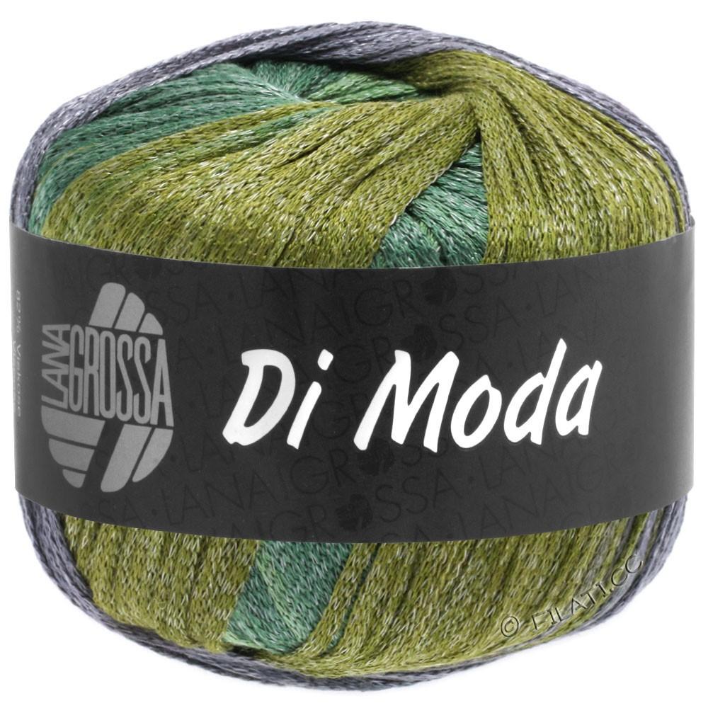 Lana Grossa DI MODA | 18-оливковый/старо-фиолетовый/тёмно-зелёный/средний зеленый