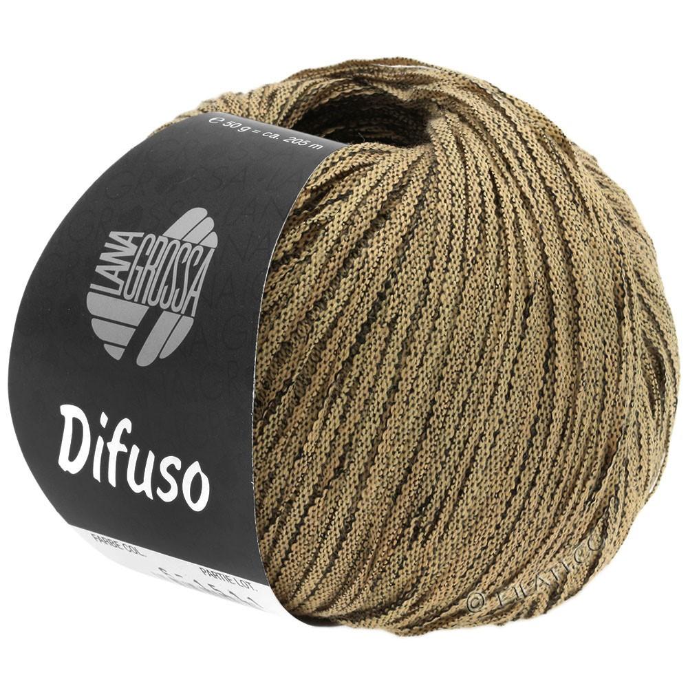 Lana Grossa DIFUSO | 08-песок/чёрный