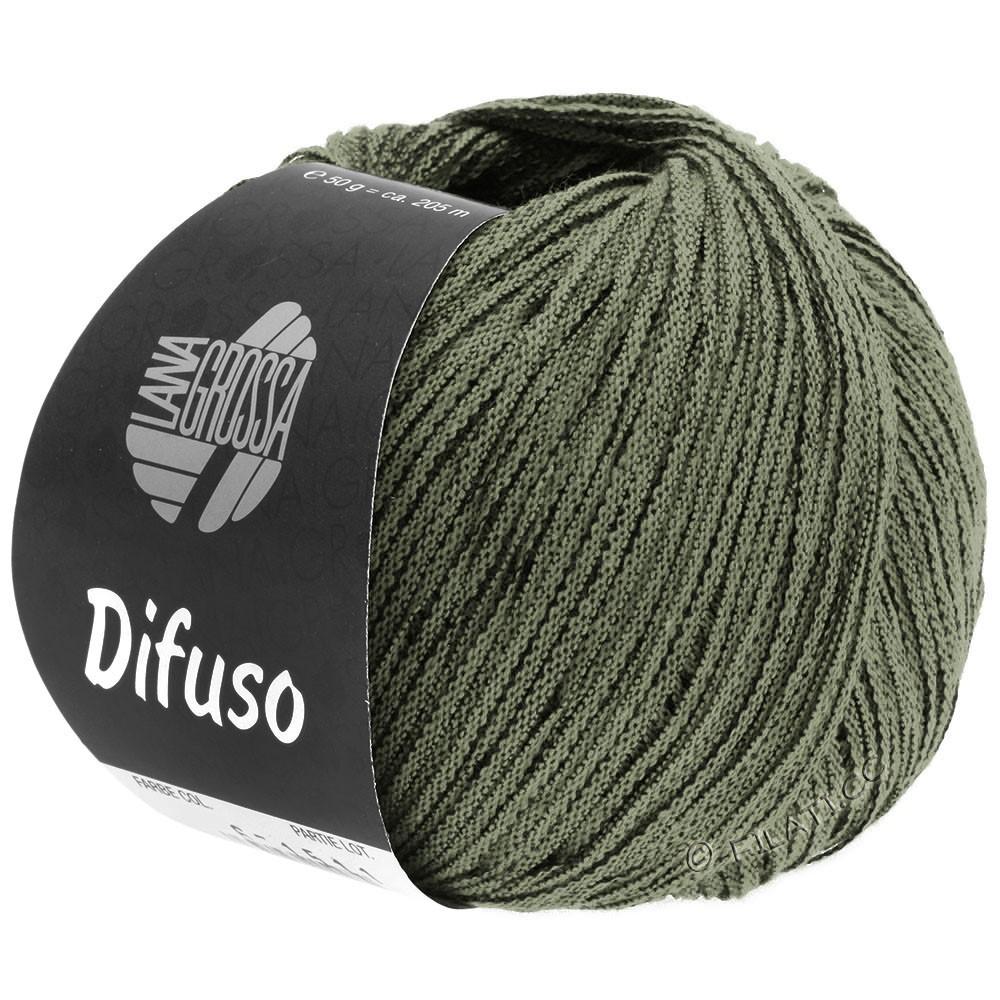 Lana Grossa DIFUSO | 11-серо-зеленый/чёрный