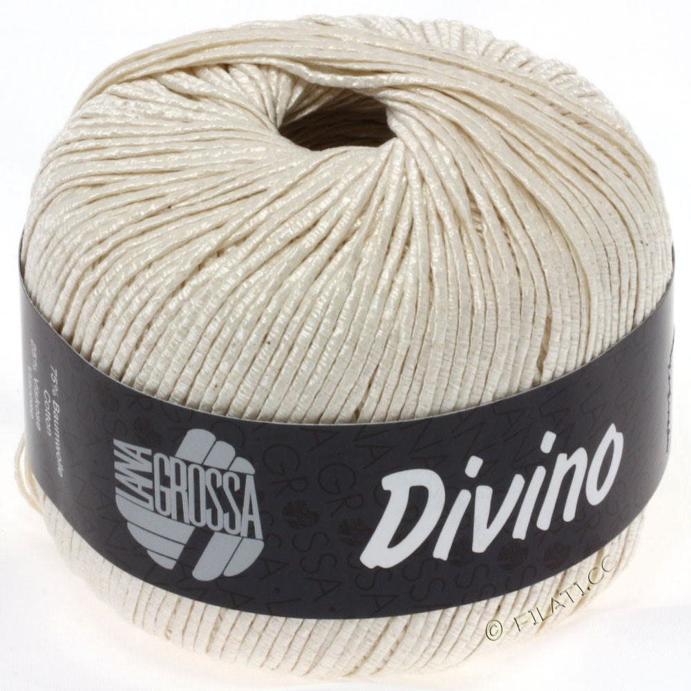 Lana Grossa DIVINO Uni уни | 07-цвет экрю