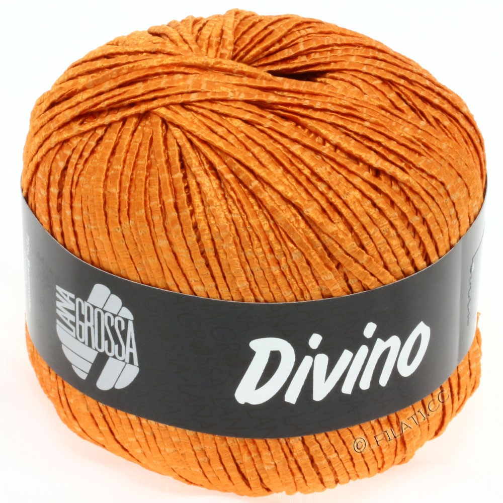 Lana Grossa DIVINO Uni уни | 10-мандариновый