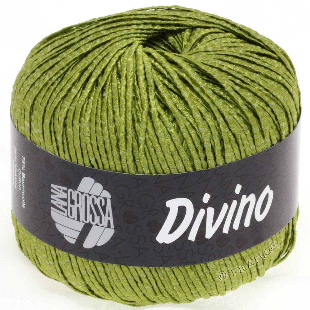 Lana Grossa DIVINO Uni уни | 12-оливковый