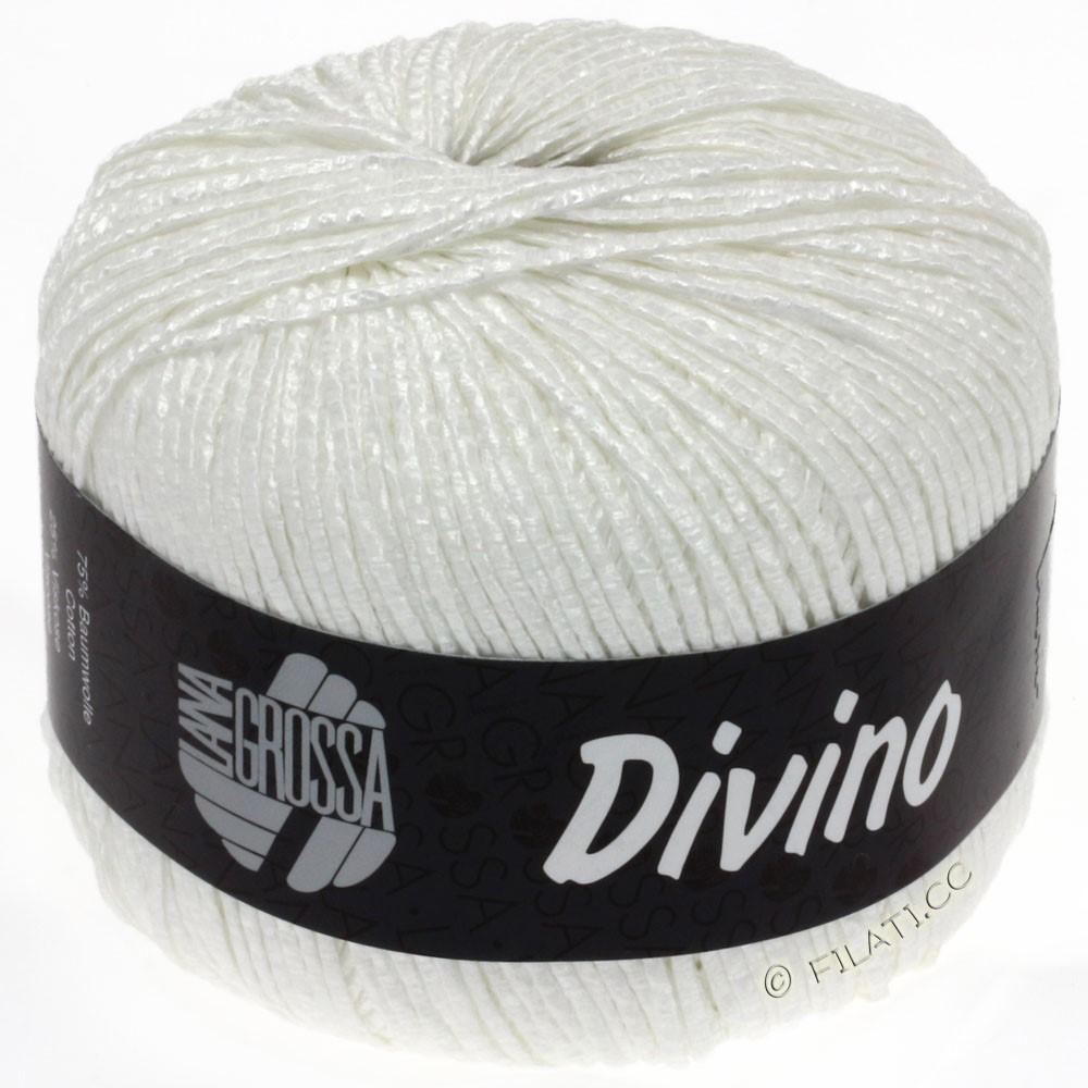 Lana Grossa DIVINO Uni уни | 15-белый