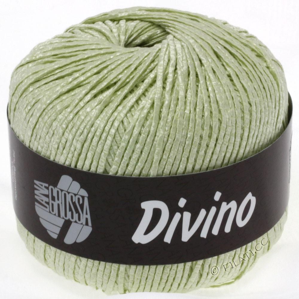 Lana Grossa DIVINO Uni уни | 16-мягко-зеленый