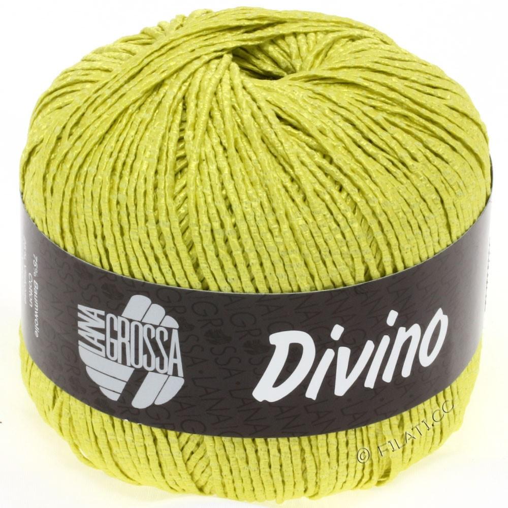 Lana Grossa DIVINO Uni уни | 21-жёлто-зеленый