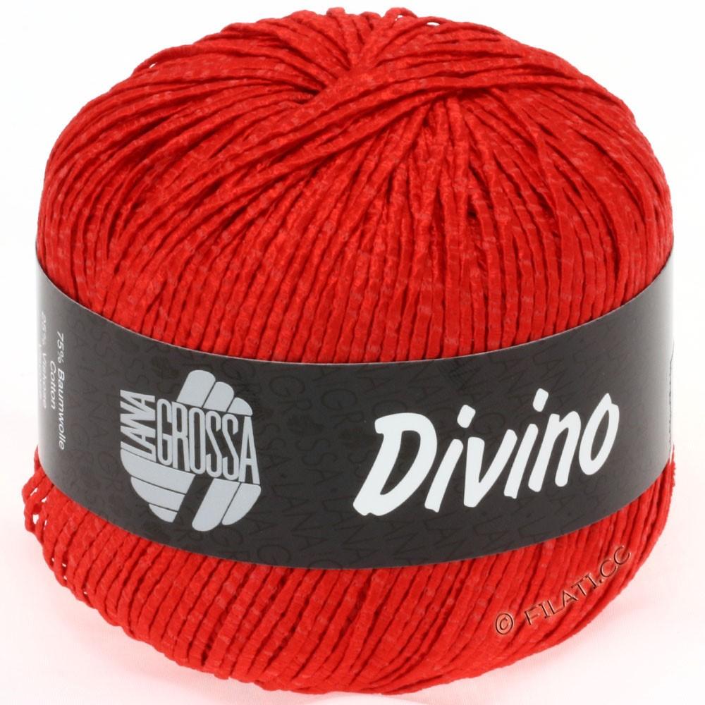 Lana Grossa DIVINO Uni уни | 26-мак красный