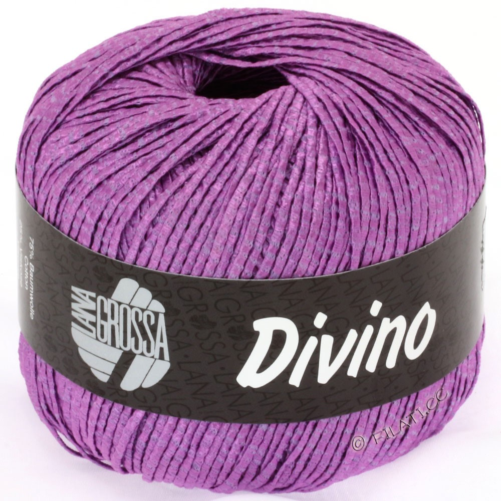 Lana Grossa DIVINO Uni уни | 28-фиолетовый