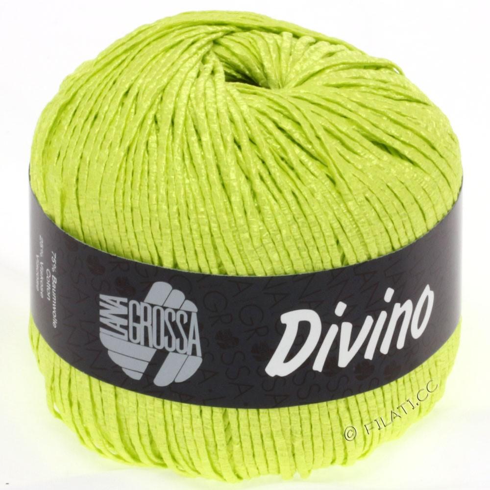 Lana Grossa DIVINO Uni уни | 38-жёлто-зеленый