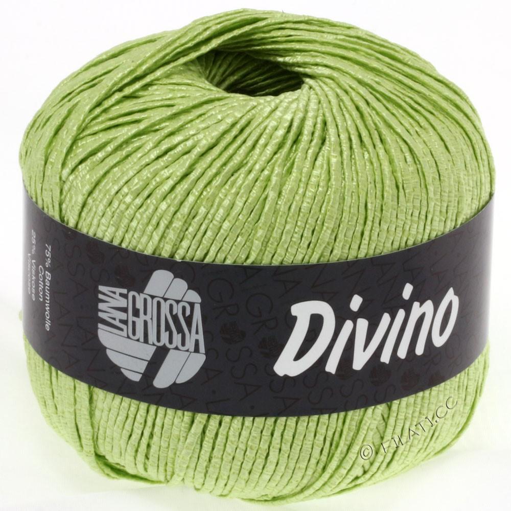 Lana Grossa DIVINO Uni уни | 39-светло-зелёный