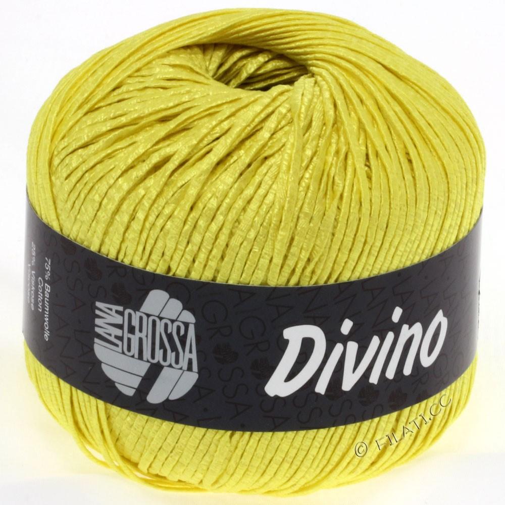 Lana Grossa DIVINO Uni уни | 41-жёлтый