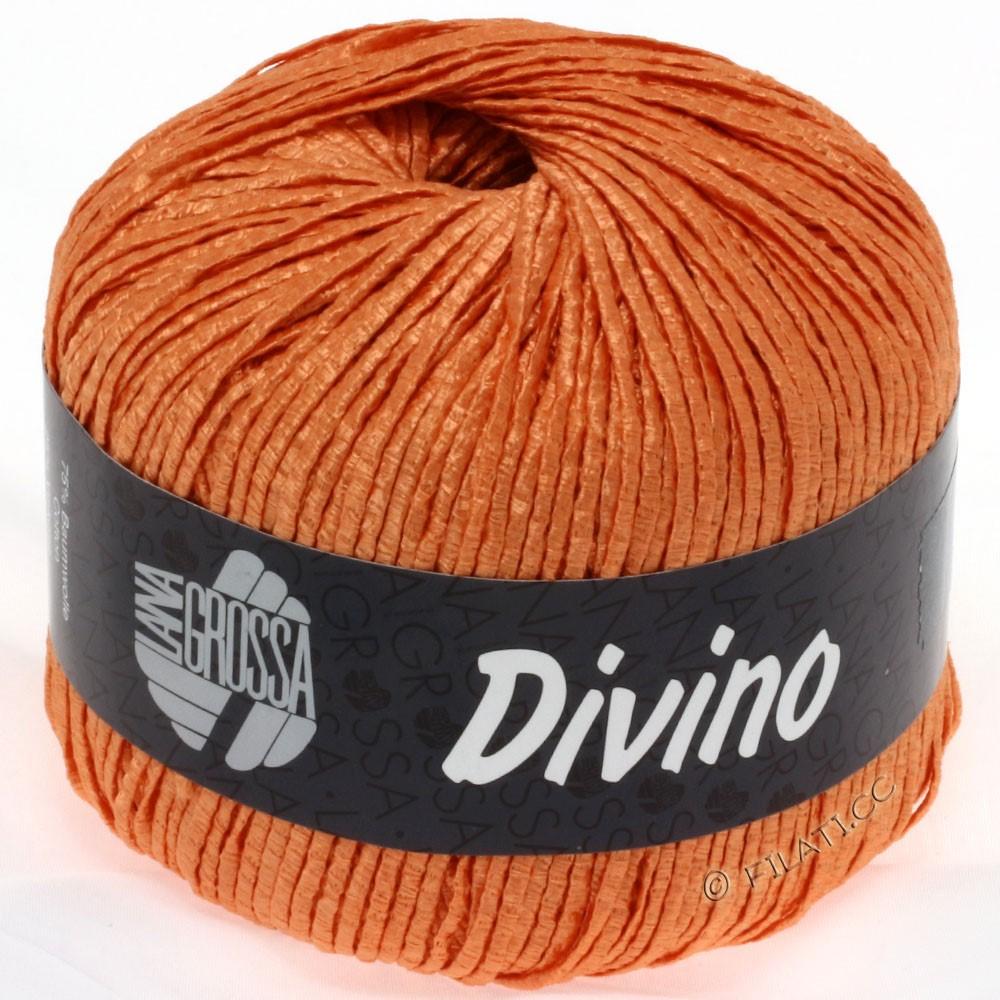 Lana Grossa DIVINO Uni уни | 42-оранжевый
