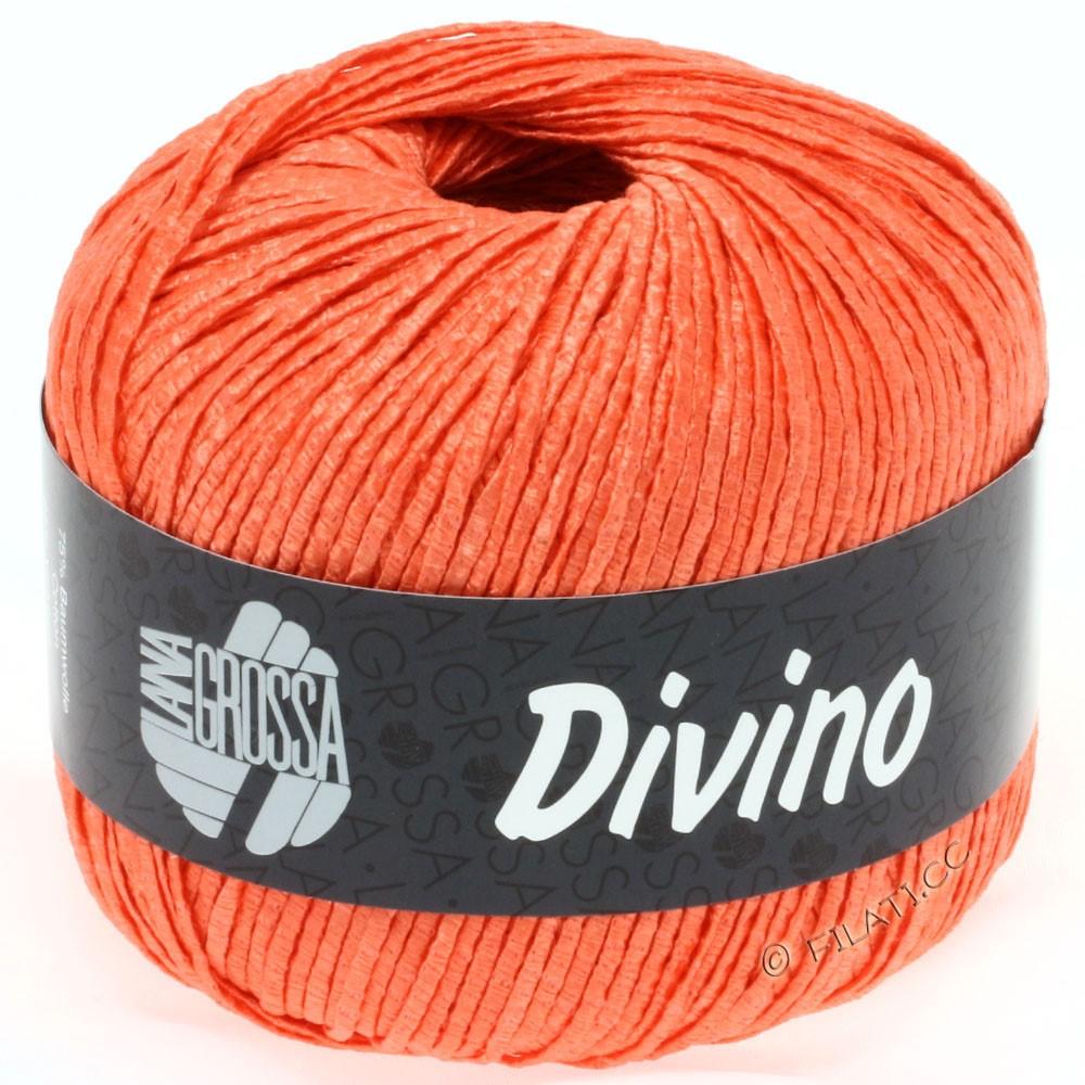 Lana Grossa DIVINO Uni уни | 48-мандариновый