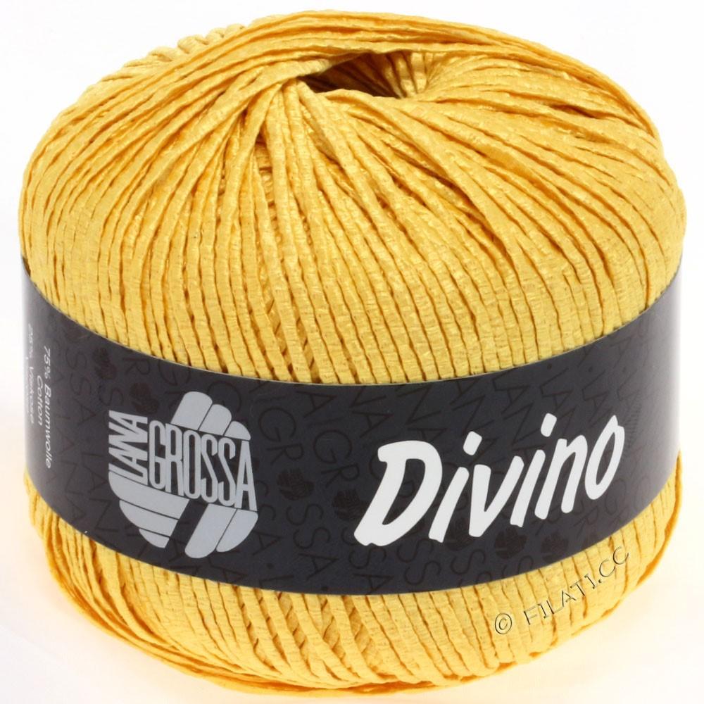 Lana Grossa DIVINO Uni уни | 49-золотисто-жёлтый