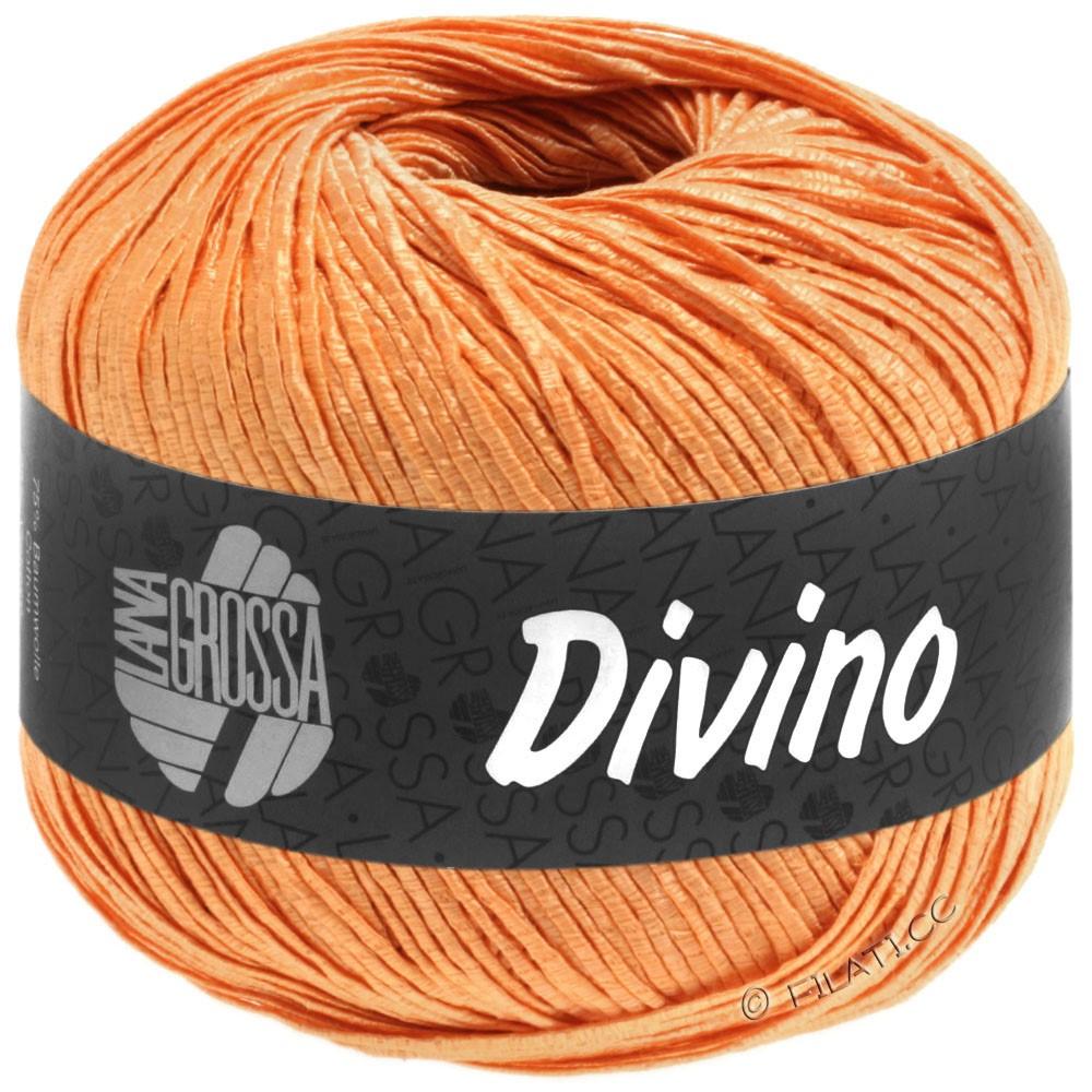 Lana Grossa DIVINO Uni уни | 58-мандариновый