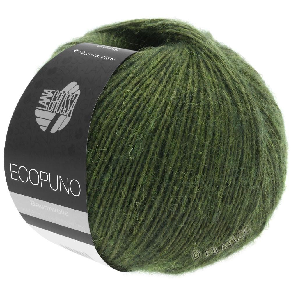 Lana Grossa ECOPUNO | 01-темно-зеленый