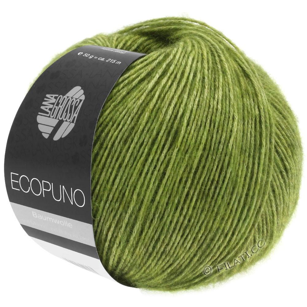 Lana Grossa ECOPUNO | 02-зелёное яблоко