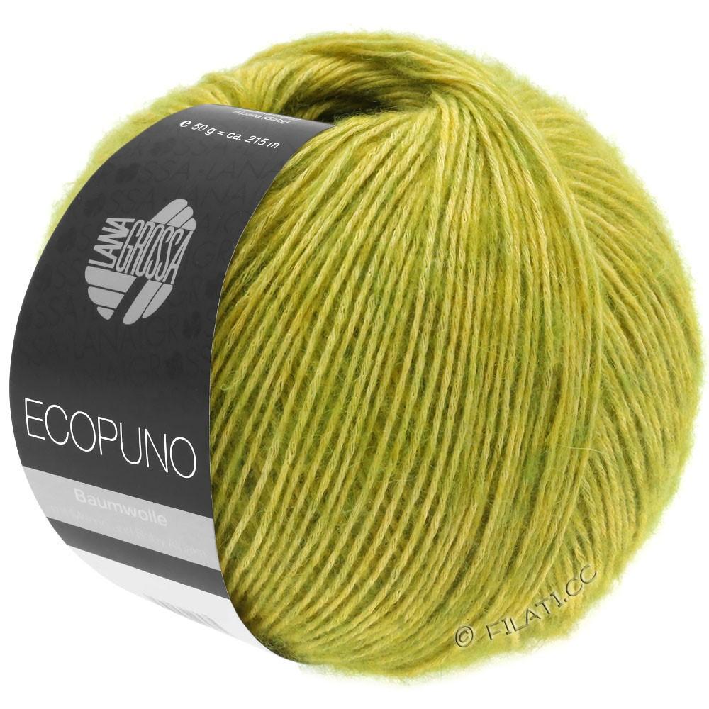 Lana Grossa ECOPUNO | 03-жёлто-зеленый