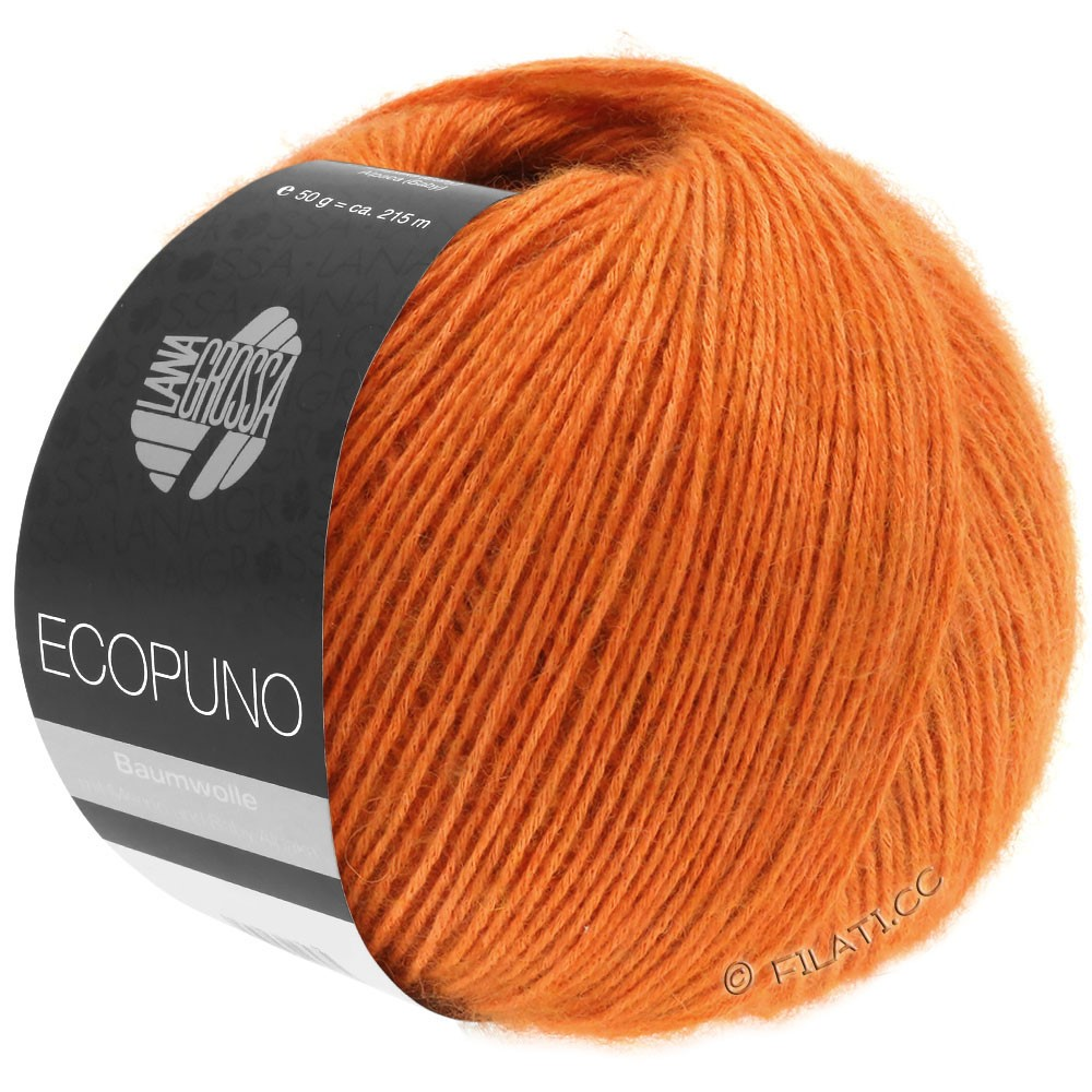 Lana Grossa ECOPUNO | 05-яффа оранжевый