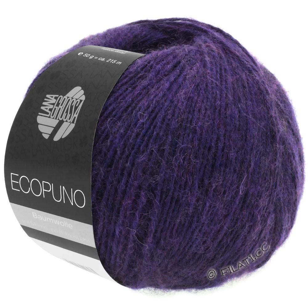 Lana Grossa ECOPUNO | 09-тёмно-фиолетовый
