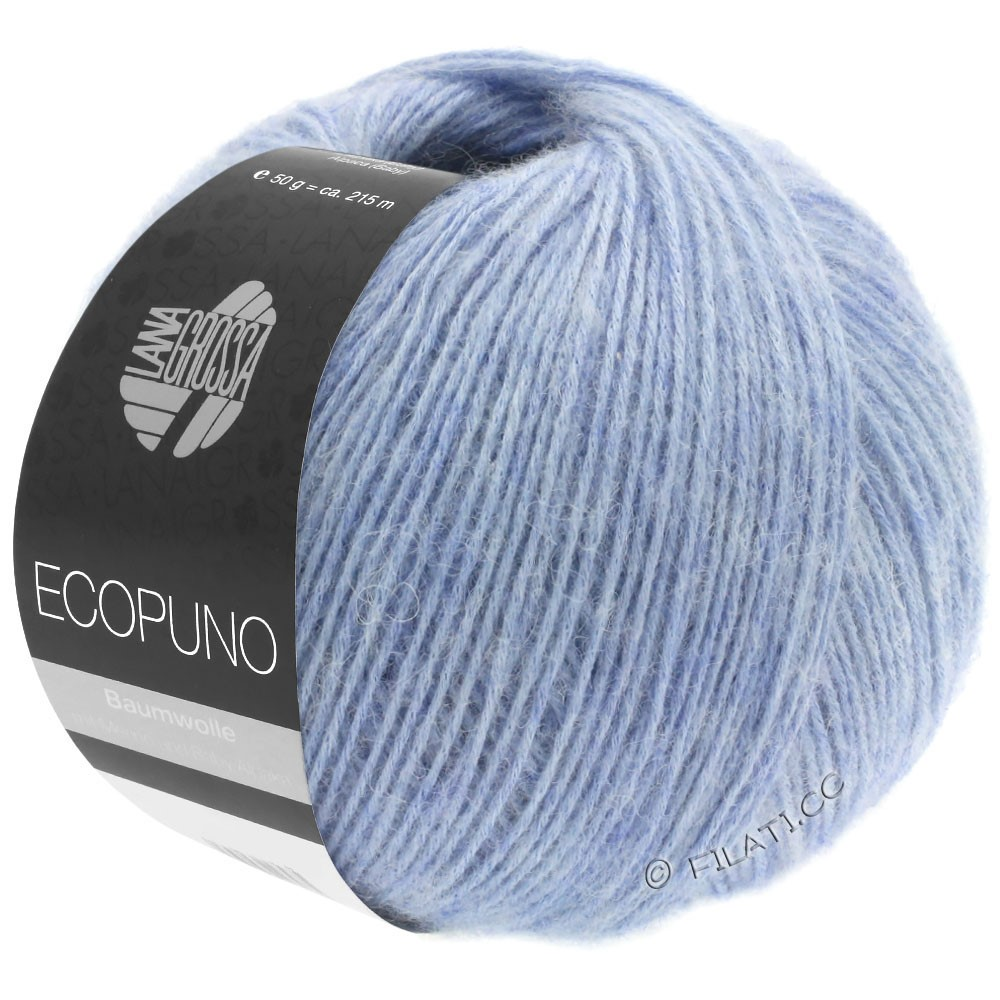 Lana Grossa ECOPUNO | 13-светло-голубой